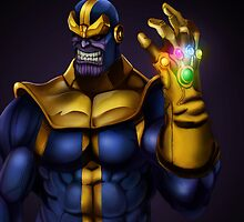 Thanos - Marvel Villain Series by ericvasquez84