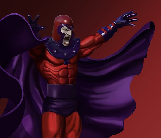 Magneto - Marvel Villain Series by ericvasquez84