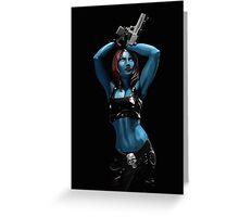 Mystique - Marvel Villain Series Greeting Card