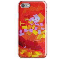Orange Mosaic iPhone Case/Skin