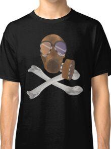 gas mask cross bones Classic T-Shirt