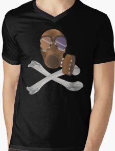gas mask cross bones T-Shirt