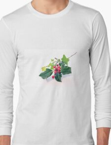 Holly And Ivy Long Sleeve T-Shirt