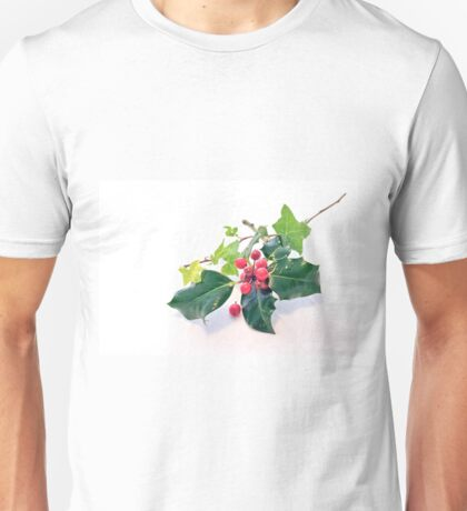 Holly And Ivy Unisex T-Shirt