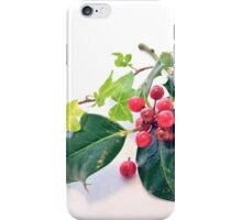 Holly And Ivy iPhone Case/Skin
