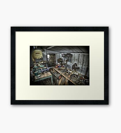 A PLACE OF WORK Framed Print
