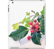 Holly And Ivy iPad Case/Skin