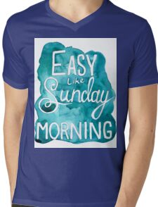 Easy Like Sunday Morning  Mens V-Neck T-Shirt