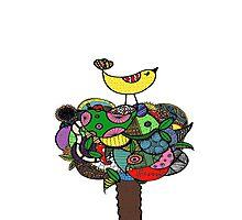 Doodle Throne (Colour) Photographic Print