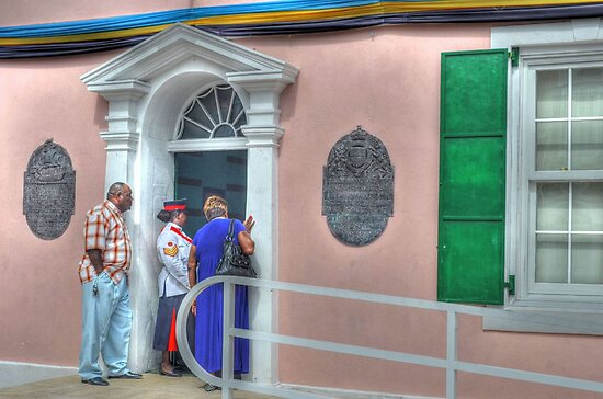 Street Life in Downtown Nassau, The Bahamas by Jeremy Lavender Photography