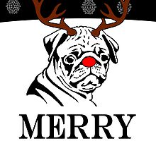 Merry Pugmas by aketton