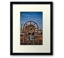 Heavy Duty Reel Framed Print