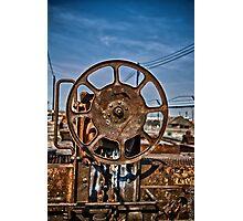 Heavy Duty Reel Photographic Print