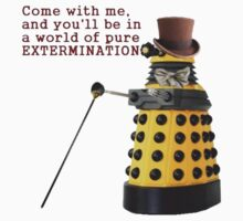 Willy Wonka Dalek by kassius