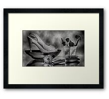 FASHION VINTAGE Framed Print