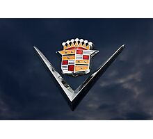 Cadillac Crest Photographic Print