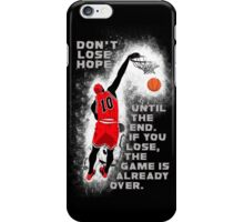 Slam Dunk Quote iPhone Case/Skin