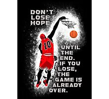 Slam Dunk Quote Photographic Print