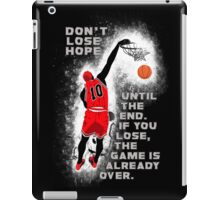 Slam Dunk Quote iPad Case/Skin