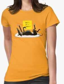 Snoozin' Womens Fitted T-Shirt
