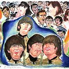 rock beatles shea stadium by LIVING