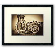 VINTAGE 35MM Framed Print