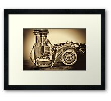 VINTAGE 35MM Framed Print