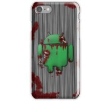 Zombie Droid iPhone Case/Skin
