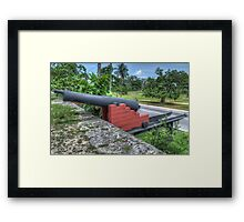 West Bay Street at Arawak Cay in Nassau, The Bahamas Framed Print