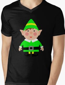 Mr green elf Mens V-Neck T-Shirt
