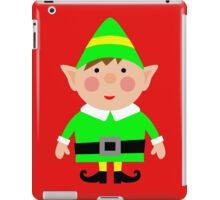 Mr green elf iPad Case/Skin