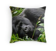 """""""The aging Monarch"""" Throw Pillow"""