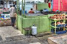 Fishermen selling conchs at Potter's Cay - Nassau, The Bahamas by Jeremy Lavender Photography