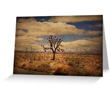 As We Go Down Life's Lonesome Highway Greeting Card