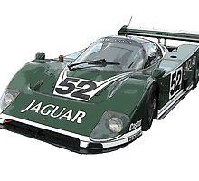 Le Mans Jaguar XJR6 by jonbunston