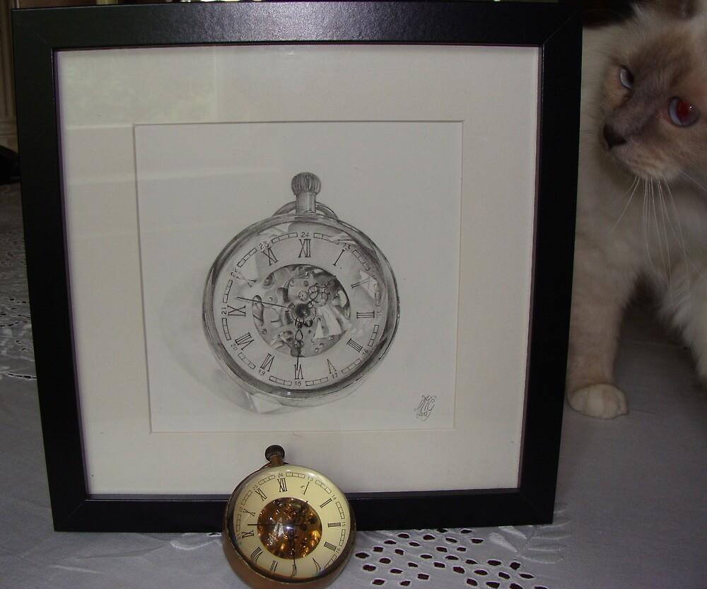 clock & clock by MoniqueGeurts