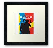 Man From U.N.C.L.E Framed Print