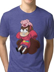 Gravity Falls - Mabel Tri-blend T-Shirt