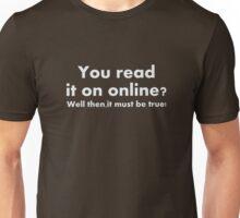 Read it online Unisex T-Shirt