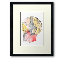 gifted wolf Framed Print