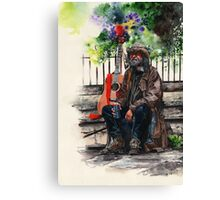 Glastonbury Man Canvas Print