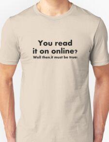 Read it online T-Shirt