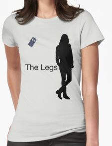 The Legs Womens Fitted T-Shirt