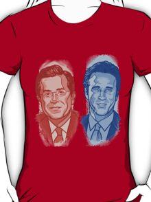 Jon Stewart and Stephen Colbert T-Shirt
