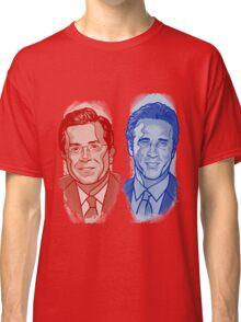 Jon Stewart and Stephen Colbert Classic T-Shirt