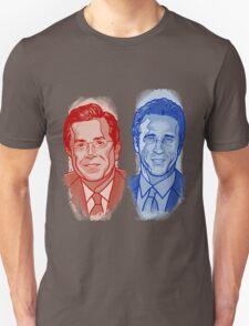Jon Stewart and Stephen Colbert Unisex T-Shirt