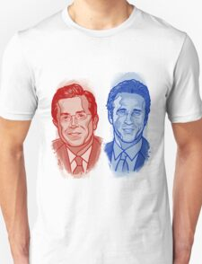 Jon Stewart and Stephen Colbert T-Shirt