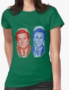 Jon Stewart and Stephen Colbert Womens T-Shirt