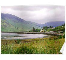 Cove near Invershiel, Scotland Poster