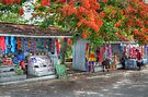 Tourist Shops at Fort Charlotte in Nassau, The Bahamas by 242Digital